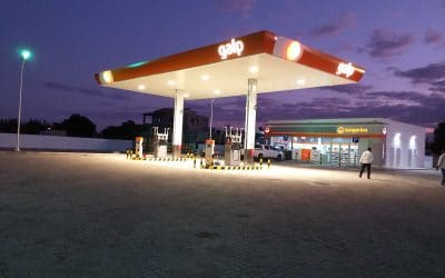 New GALP fuel station in Cumbeza – Mozambique