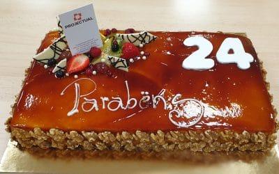 PROJECTUAL's 24th Anniversary