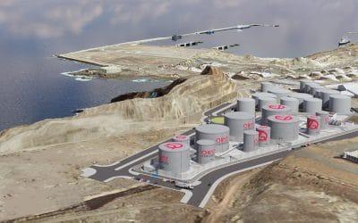 ORYX ENERGIES SA – Expansão de terminal em Las Palmas